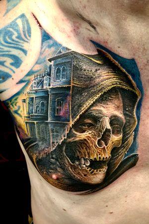 #skull # coulorfullskull #horror #grave
