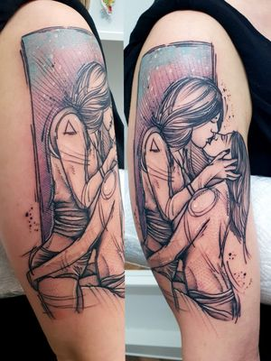 #kuro #kurotrash #tattoo #tattooing #tattoos #tattooed #tattooer #black #blackandwhite #blackwork #blackworkers #ink #inked #darkartists #darkart #onlythedarkest #blackarts #blackink #insta #instaphoto #tattooart #tattooartist #vienna #wien #sketch #comics #love #sex #lesbian