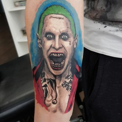 #tattoo #joker #SuicideSquad #jaredleto #dc #comics