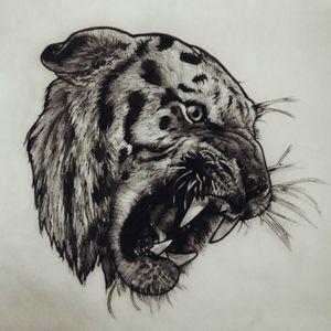 #tiger #blackworkers #tigertattoo #tattoos #draw #dibujo #grises #bng #tatuajes #tucuman #tigre