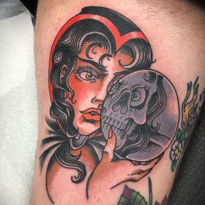 Tattoo by Cassie Lynn O'Neal #CassieLynnONeal #PhiladelphiaTattooArtsConvention2019 #PhiladelphiaTattooConvention #PhiladelphiaTattooArtsConvention #Philly #tattooconvention