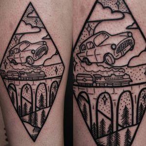 I've had extremely big fun with this Harry Potter tattoo today ;)  #dktattoos #dagmara #kokocinska #coventry #coventrytattoo #coventrytattooartist #coventrytattoostudio #emeraldink #emeraldinkltd #dagmarakokocinska #harrypotter #HarryPottertattoo #lines #linestattoo #tattoo #tattoos #tattooideas #tatt #tattooist #tattooshop #tattooedgirl #tattooforgirls #killerbee #immortalinnovations #sabre #pantheraink