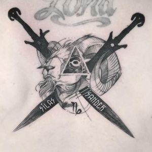 #тату #козерог #trigram #tattoo #capricorn #inkedsense #tattooist #кольщик