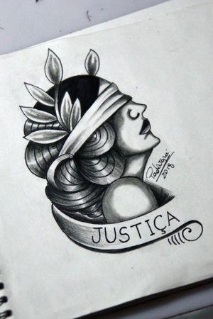 #justiça #justice #tattoosketch #thiagopadovani