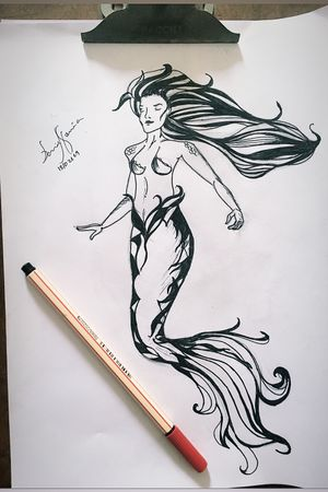 13/02/2019 - Mermaid - sereia