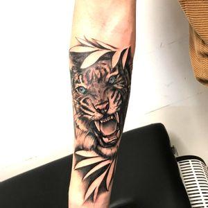 #tigertattoo #tigre #blueeyes #jungle