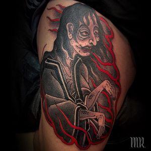Tattoo by Mike Rubendall #MikeRubendall #LeMondialDuTatouage ##LeMondialDuTatouage2019 #Paris #France #tattooconvention