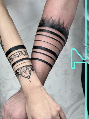 Tattoo by tatuaze zalewski #tatuazezalewski #couplestattoos #valentinesday #love #couple #heart #matchingtattoos