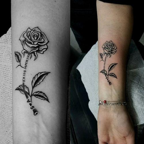 #rosetattoo #rose #femininetattoo #girltattoo #girltattoos #femininetattoos #RoseTattoos #ideatattoo #girlstattoo #girlstattooed #tatouages #tattooart #tattooartist #tattoo #tatouage #tatouages #tato #tatuaje #tatuagem #tatu