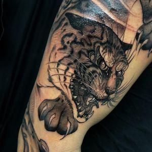 Tattoo by Aimee Cornwell #AimeeCornwell  #LeMondialDuTatouage ##LeMondialDuTatouage2019 #Paris #France #tattooconvention