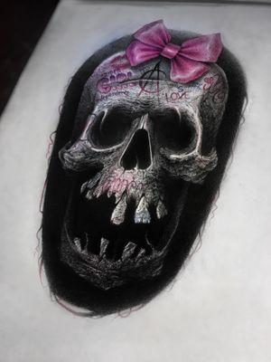 My new horror project 🖤 #tattoo #tattoart #tattooartist #tattoos #sketch #horror #skull #art