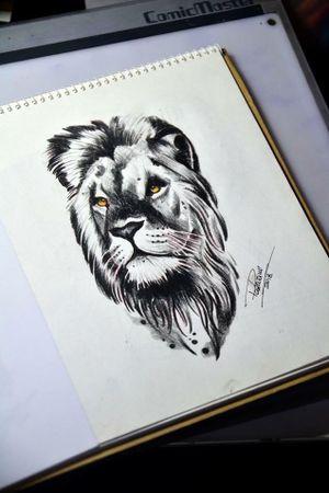 #lion #leao #tattoosketch #thiagopadovani