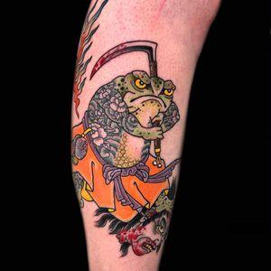 Tattoo by Henning Jorgensen #HenningJorgensen #LeMondialDuTatouage ##LeMondialDuTatouage2019 #Paris #France #tattooconvention