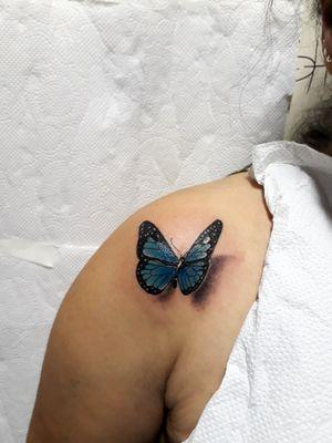 Butter fly🦋 . .#intenze #tattooart #tattoodo #tattoo2me #2019 #butterflytattoo