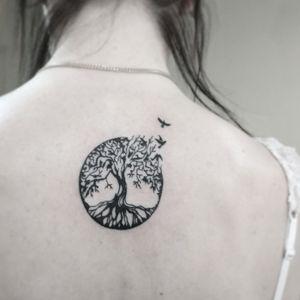 #тату #деревожизни #trigram #tattoo #treeoflife #inkedsense #tattooist #кольщик