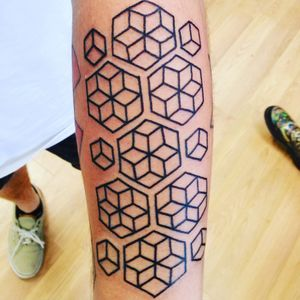 #geometric#geometrictattoos#blackwork#linework