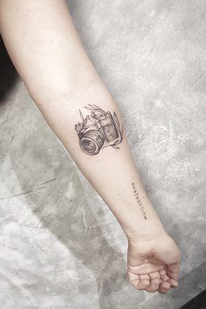 Tattoo by Olivia Tatts