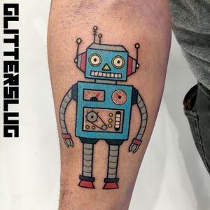 Fun little retro robot!