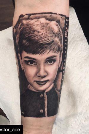 """""""Nothing is impossible, the word itself says 'I'm possible""""! @audrey.hepburn  #moviestar #movies #bestoftheday #inkedmag #tattooed #ink #tatted #thebesttattooartists #tatuajes #tattoos #tattoo #tattoosleeve #tattooartist #tattooistartmag #realismtattoo #realism #inkedgirls #tatuajes #vancouver #vancouverisland #vanlife #westcoast #seattle #seattletattooartist"""