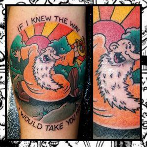 Mr. Natural... #traditionaltattoo #realtattoos #real traditional #tattoos #tattooflash #neotraditional #solidtattoo #lasvegastattooer #walkinswelcome #summerlintattooartist #lasvegastattooartist #tattoo #inked #skinandink #picoftheday #inkmaster #tattoosnob #mrnatural