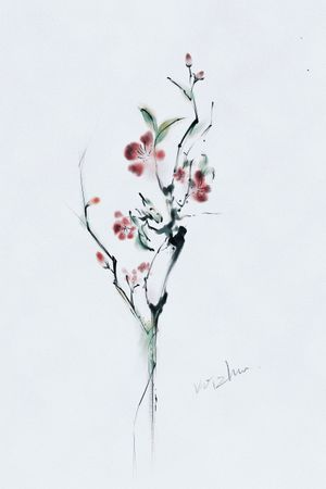 #flowertattoo#watercolorflowertattoo#wintersweet #plumblossom #plumblossomtattoo #chinesetattoo #melbournetattoo #melbournetattooartist #melbournetattoostudio
