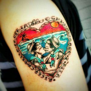 #love #sailor #oldschool #traditional #tattoing #work #mydesign