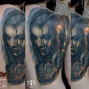 #tattooart #ink #realism #realistic #color #colorful #inked #realistictattoo #colortattoo #inkedgirl #tattooed #tattooedgirls #girlwithtattoos #healed #women #face #cat #MirelTattoo #mireltattooartgallery #DumitruTodirica #portrait #Tattoodo