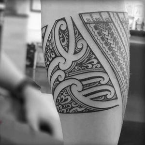 Samoan, Maori Polynesian Taulima, forearm band. #Samoan #Maori #Kirituhi #Polynesian #freehand #samoantattooartist #newzealandtattooist