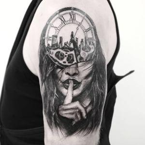 #тату #тишина #trigram #tattoo #silence #inkedsense #tattooist #кольщик