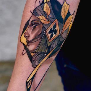 Tattoo by Matt Tischler #MattTischler #MusinkFest #Musink #musicfestival #tattooconvention #TravisBarker