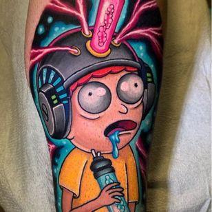 Tattoo by Jon Leighton #JonLeighton #MusinkFest #Musink #musicfestival #tattooconvention #TravisBarker
