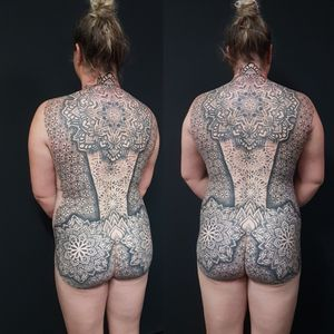 Another finished back for an awesome client