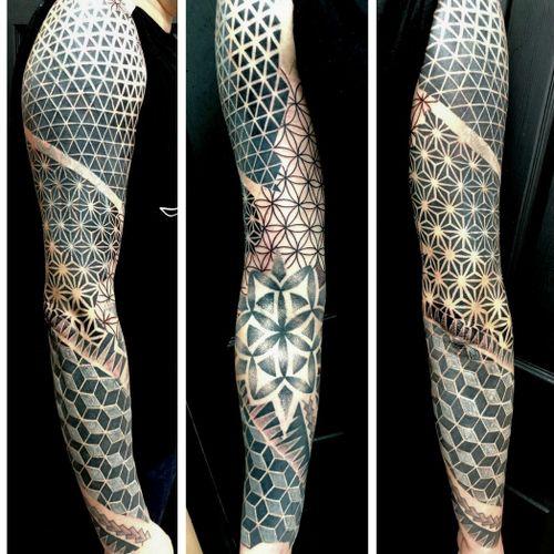 Tribal cover up full sleeve