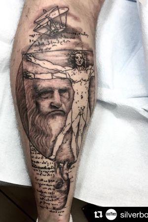 Awesome leg piece by Nestor_ace  #leonardodavinci #davinci #tattoos #tattoo #tatt #tatts #tatted #tattooed #tattooartist #tattooist #tattedup #vancouver #vancouverisland #vancity #vancitybuzz #vanlife #westcoast #seattle #seattletattoo #newshop #mainstreetvancouver #tattooshop #customtattoo #art @nestor_ace #ink #inked #ink361 #inklife #inkaddict #bestoftheday