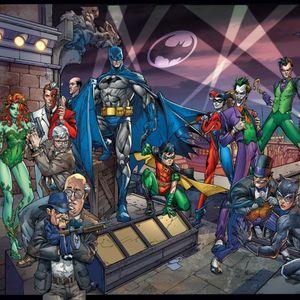 Batman, Robin, and Villains