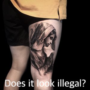 Fuxx korea rules ... Im Korea tattoo artist ssab. In Korea, tattoos are illegal. Only doctors can do it. Please ... 🙏🏻 #tattooillegal