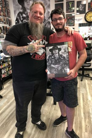 Deeply honored to have another printjoin another family I dont considermyself annartist but its individuals like Noah tha drive the Vikingmachine to keep working thank you.
