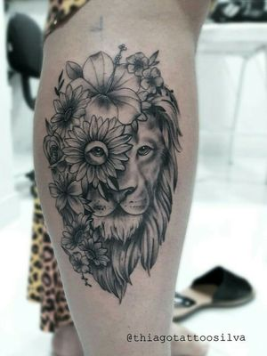 Liaozinho Finalizado agora diga ai o que achou dele 😉😉 Orçamentos 61 991950190  #lion #tattoolions #leaoflorido #margarida #lirio #flor #lionstattoo #tattooleão #leão #tattoo  #tattooforlife #rosa #tattoorosa #inspirationtattoo  #tattooartistmagazine #electricink  #tattoomundo #tattoodo #tattoo2me #tattooartist #artfusion #thprotattoo #tatuadorbrasileiro  @inspirationtattoo #tattooart #bsb #tattoobsb #thiagotattoo #ink #tattoolove #tattoobrasil  @liontattoos
