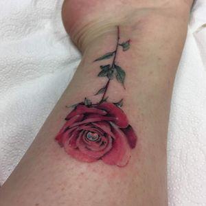 #rosetattoo #belfast #rose #delicatetattoo