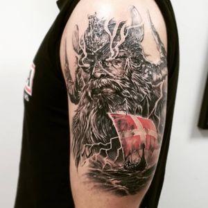#тату #Один #trigram #tattoo #Odin #inkedsense #tattooist #кольщик