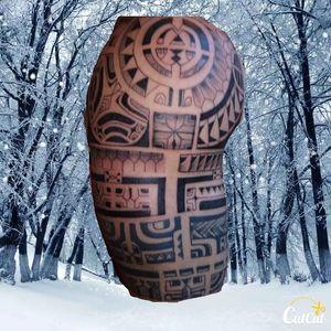 #tahiti #Tatautattoo  #patutiki #tatouages