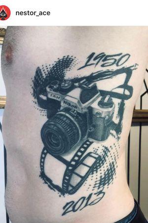 Artist: nestor_ace Got a chance to see this tattoo i did 4 years ago! •#halfsleevetattoo #vancouver #vancity #granvilleisland #westcoast #tattoo #tattooideas #tattoos #tattooer #tatted #ink #inked #inkjunkeyz #inkaddict #besttattoos #vancouvertattooartist #vancouvertattoo #bestoftheday #tatuajes #tatuaje