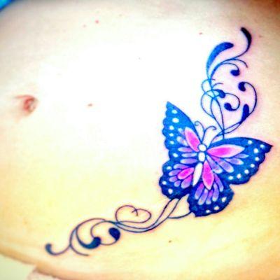 #Butterflies #butterfly #butterflytattoo #fantasy #fantasytattoos