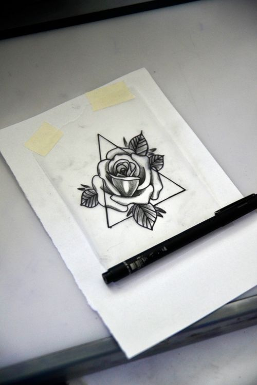 #rose #rosa #tattoosketch #thiagopadovani