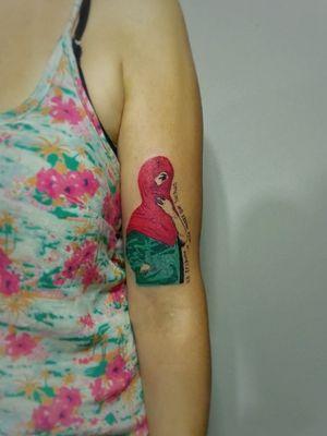 #revolution #contemporaryart #feminine #fightlikeagirl #love #passion #tattoo