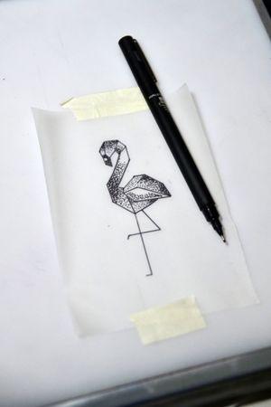 #flamingo #tattoosketch #thiagopadovani