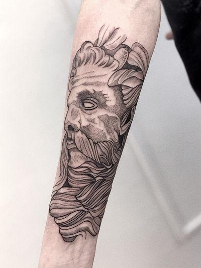 #tattooartist#ink#art#Poseidon#god#blackandgrey#black#blackwork#linework#dotwork#tattooart
