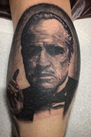 GOD FATHER #Godfather #mob#tattoo#family#portrait#don