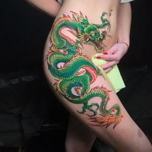 Tattoo master Alexey Gup