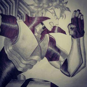Tenya Iida from BNHA drawing by Dounia rhaiti
